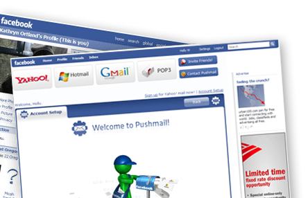 Facebook Apps - Pushmail
